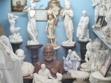 Marble Statues of Hindu Idols