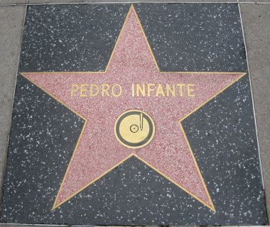 Pedro Infante's Star at the Hollywood Walk of Fame