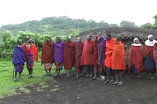 Masai Tribal Warrior Dance