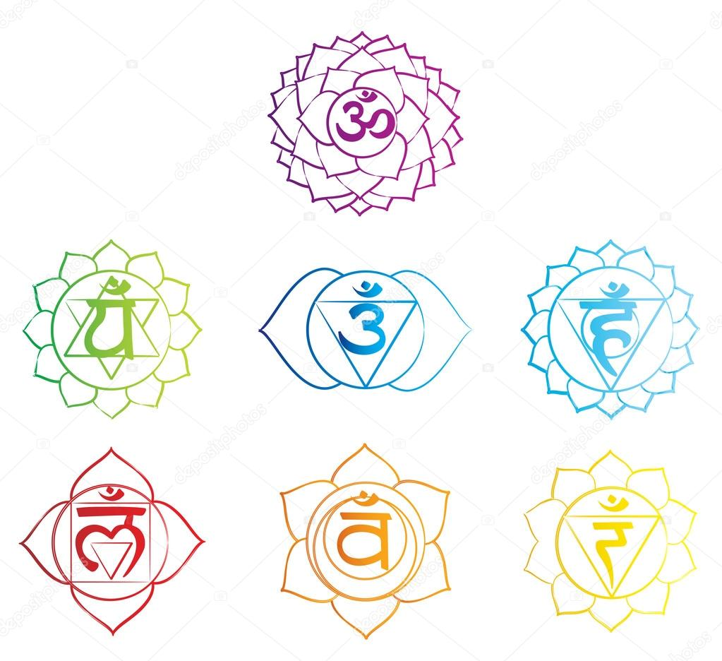 Chakra Symbol — Stock Vector © Azazelka #23509399