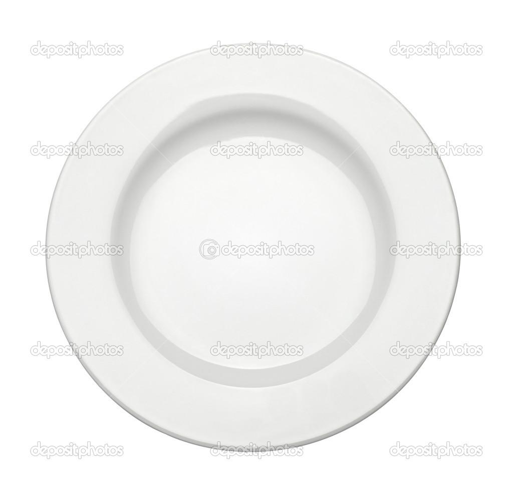 Comida de plato blanco vac o cocina restaurante foto de for Cocina 1 plato