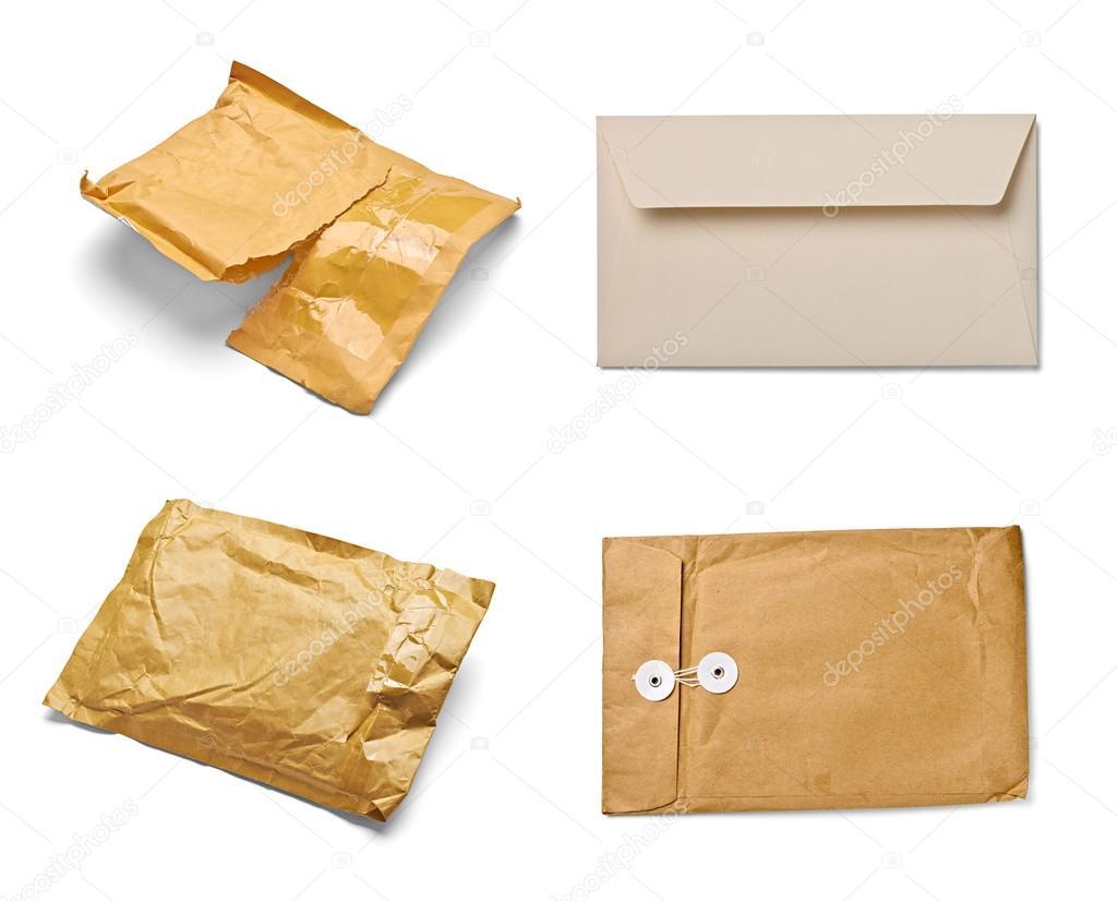 e mail paket umschlag box verwendet ffnen post stockfoto picsfive 27799679. Black Bedroom Furniture Sets. Home Design Ideas