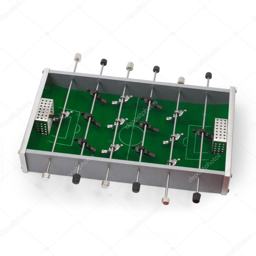 table football game isolated