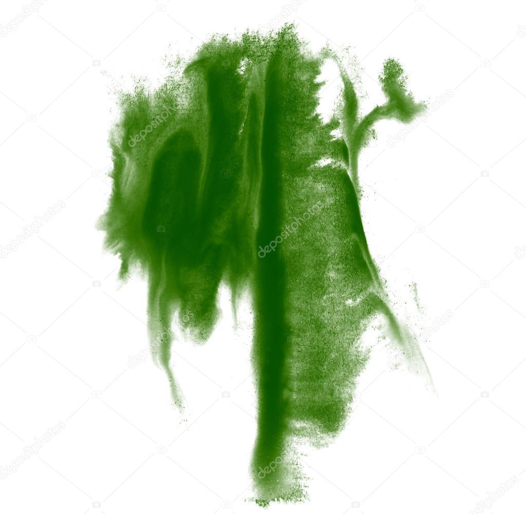 Pintura de trazo salpica color verde agua abstracto for Pintura verde agua