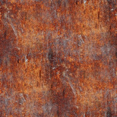Seamless rusty metal background texture iron old rust grunge ste