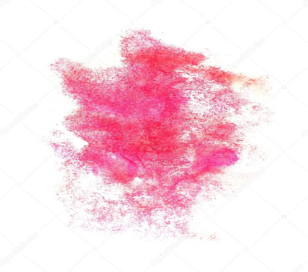 Inkt roze aquarel verf splatter splash grunge achtergrond vlek stockfoto maxximmm1 30468803 - Hoe roze verf ...