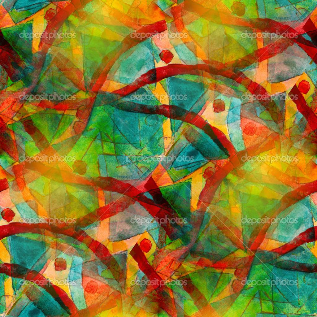 Liebenswert Kubismus Künstler Beste Wahl Künstler Grün Rot Nahtlose Abstrakte Kunst Picasso