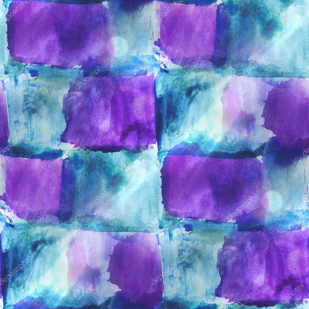 Kunst Avantgarde Hand Hintergrund Blau, Lila Nahtlose Wand Streichen U2014  Stockfoto #38376083