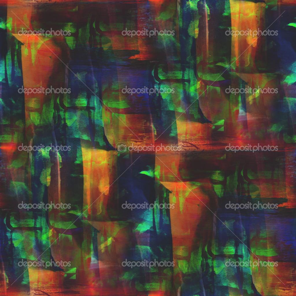marco estilo gráfico gama de colores naranja, verde, azul ...
