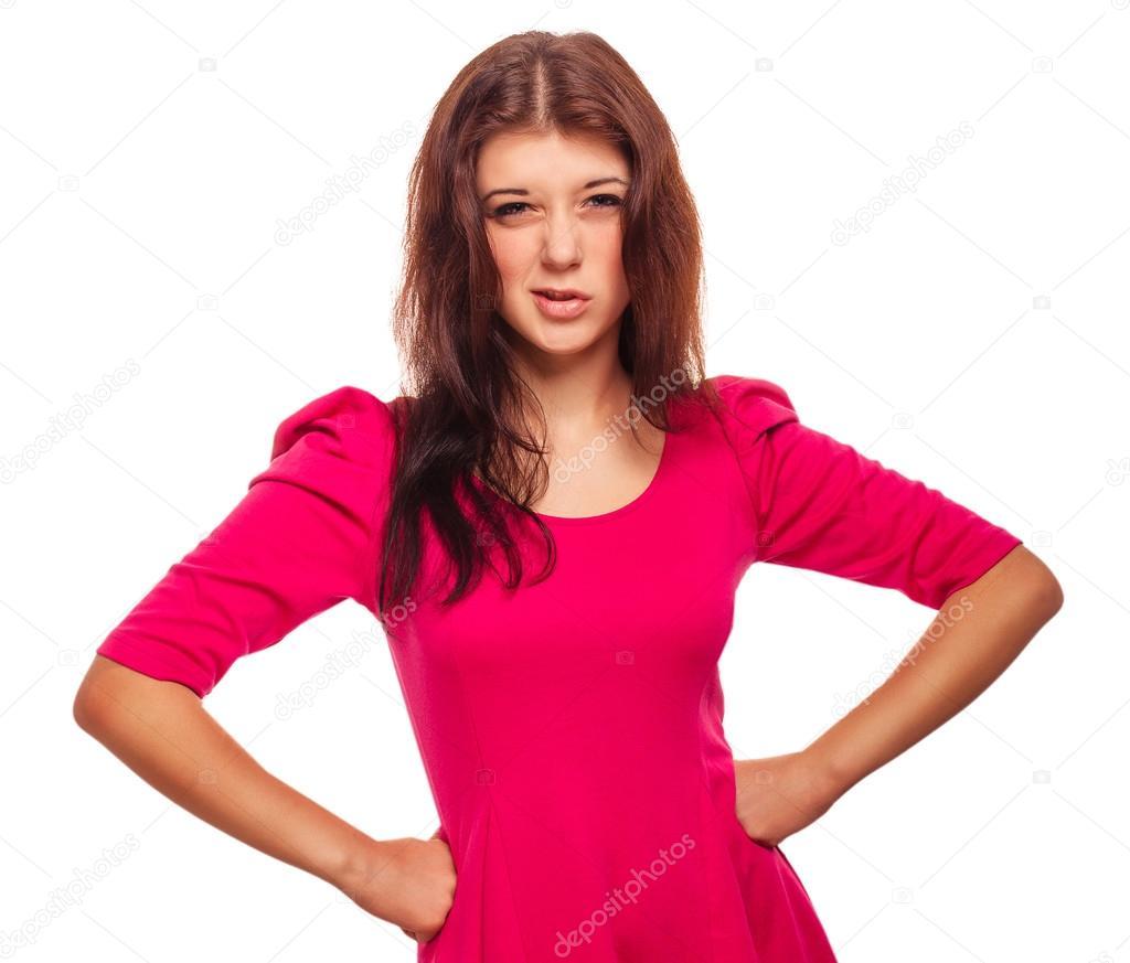 Resultado de imagen para chica enojada