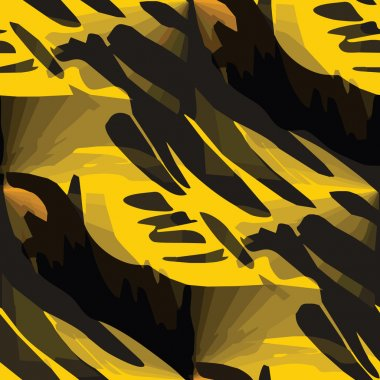 Seamless yellow, black texture (EPS 8) america ancient backgroun
