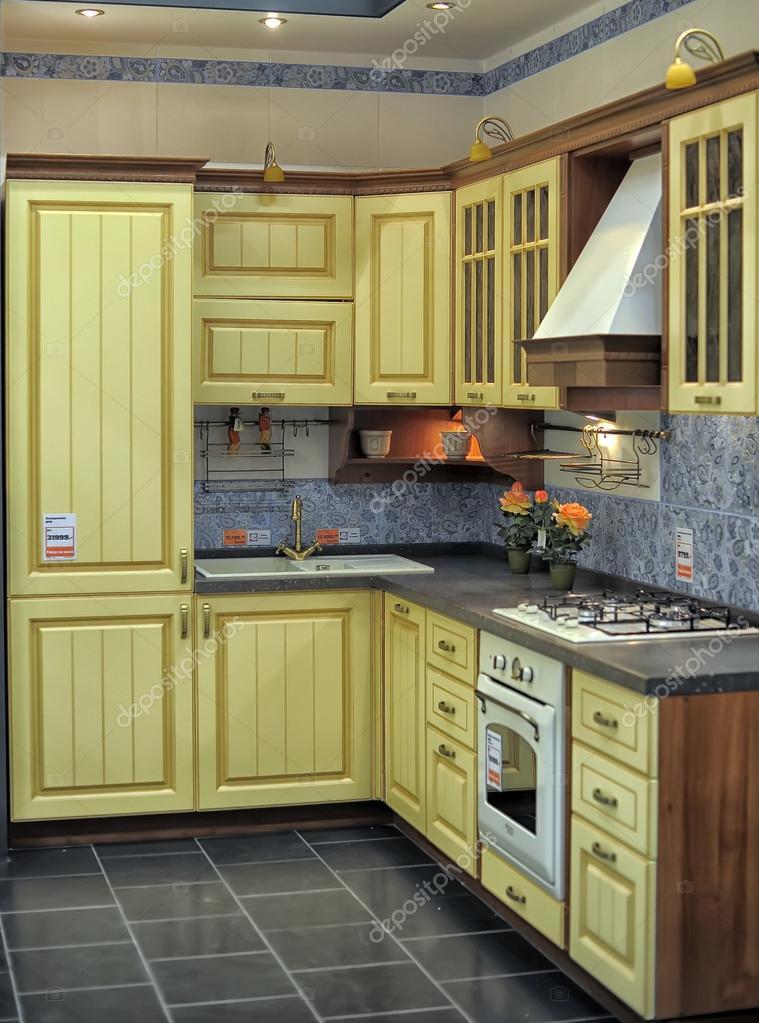 Cucina moderna per la vendita nel negozio di costruzione - Costruzione cucina ...