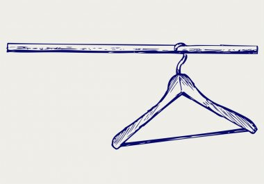Hangers. Doodle style