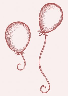 Illustration balloon
