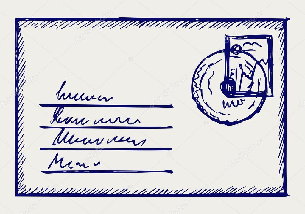 Sketch envelope