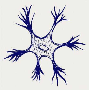 Illustration neuron
