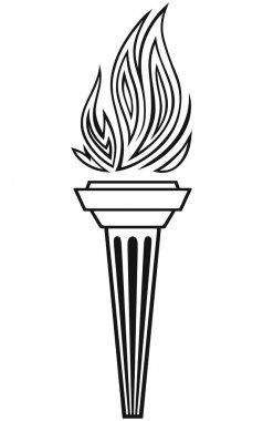 Symbol torch