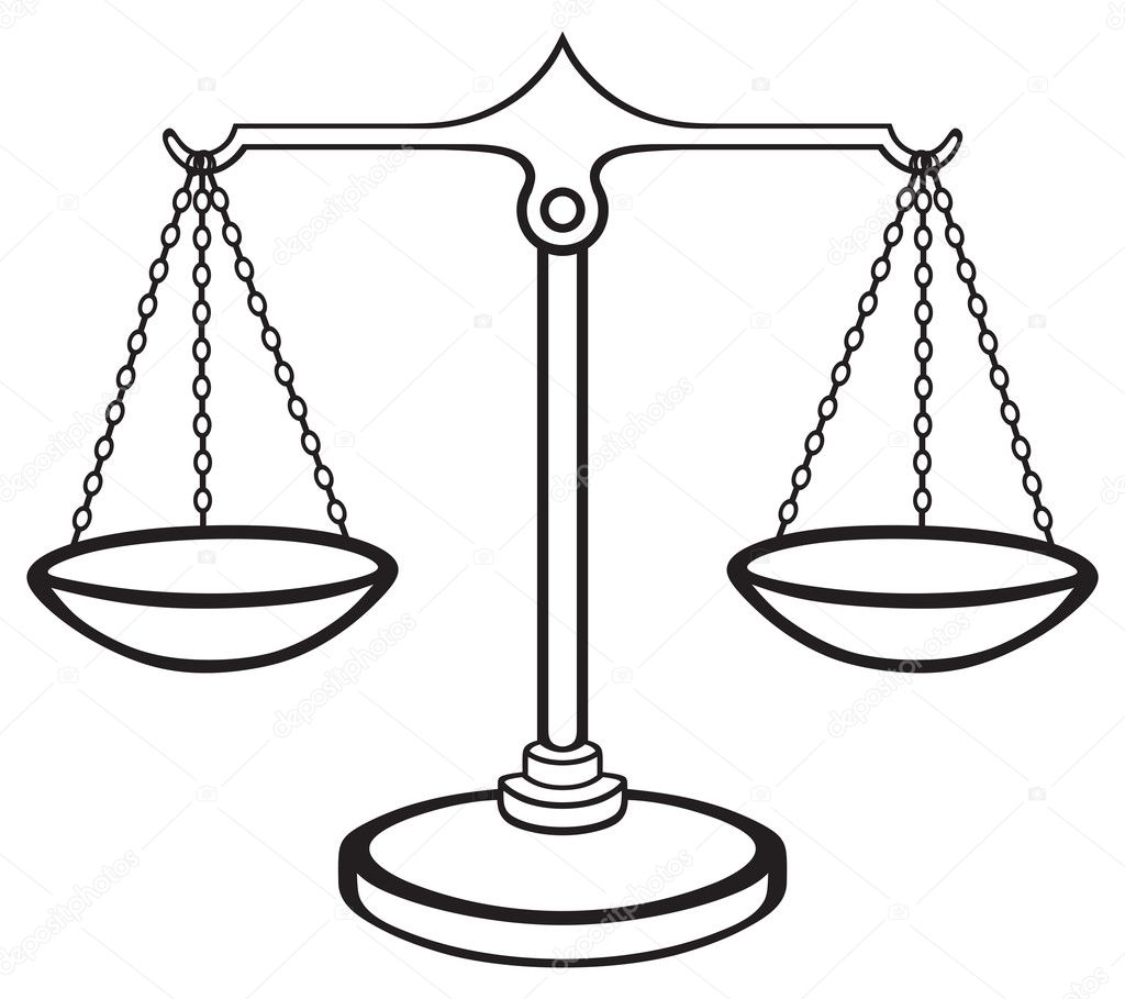balanza de la justicia vector de stock  u00a9 kreativ 27388067 Scales of Justice with Gavel Scales of Justice Logo