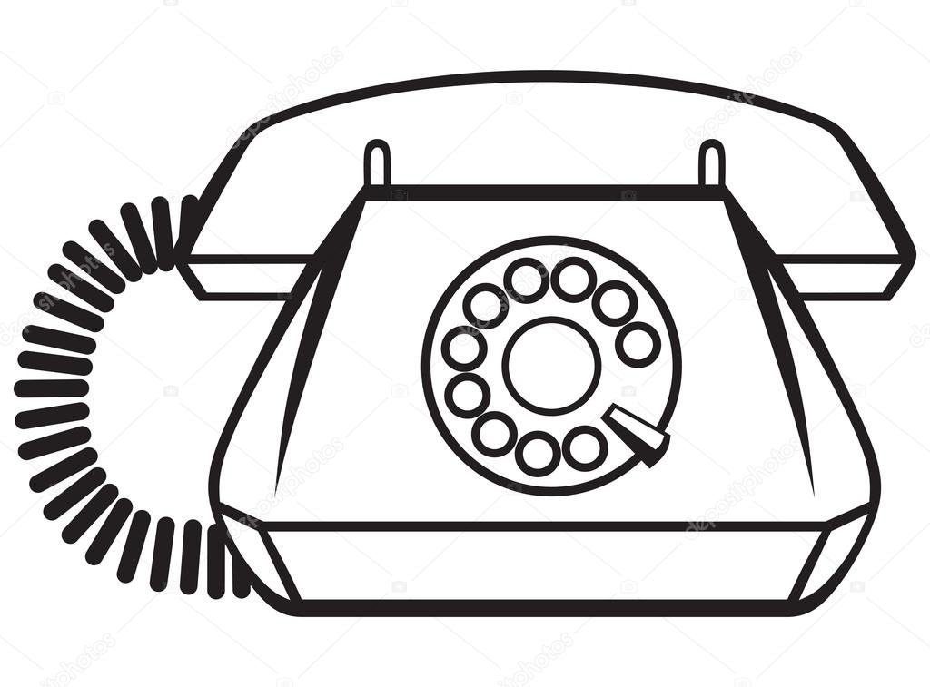 Imágenes Telefonos Antiguos Para Colorear Teléfono Antiguo