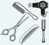 Fotografie Scissors and Comb for hair