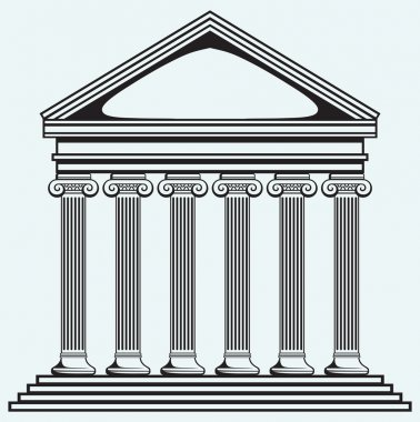 Bank. Colonnade