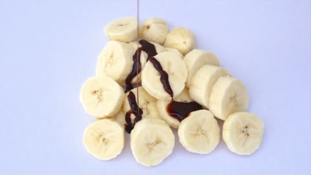 Banane mit Schokolade