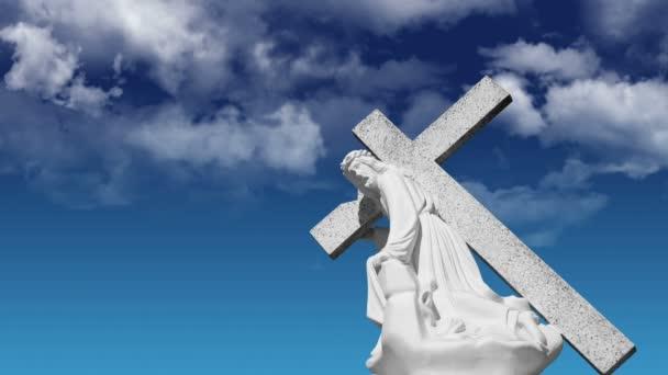 Jézus hordozó kereszt