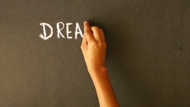 Nagy, meghatározott célok, tegyen lépéseket álom