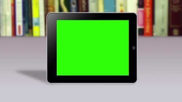 gesta rukou na zelené obrazovce