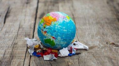 World Pollution Concept