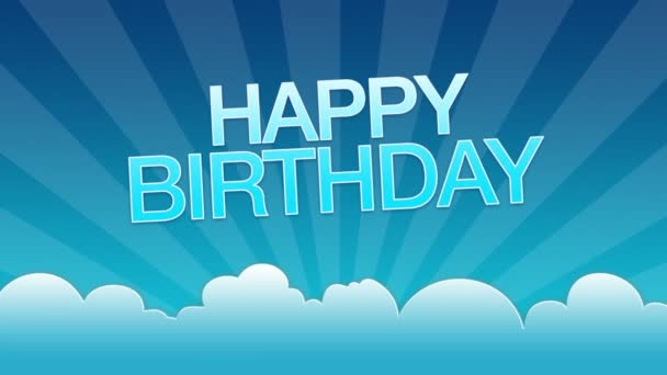 Boldog születésnapot hirdetés