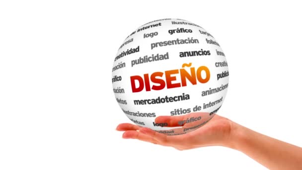 Design word sphere (In Spanish)