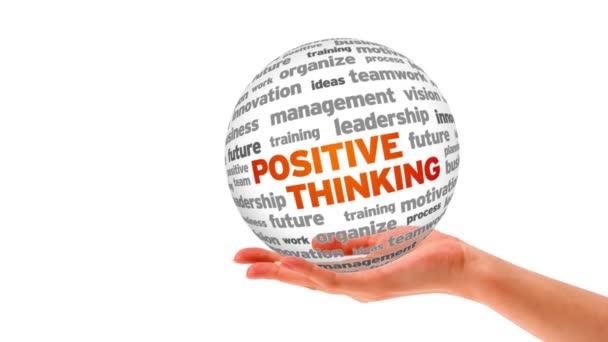 pozitivní myšlení slovo sféra