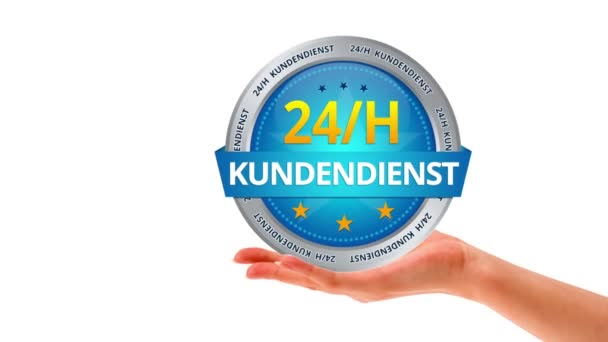 24 hour customer service (In German)