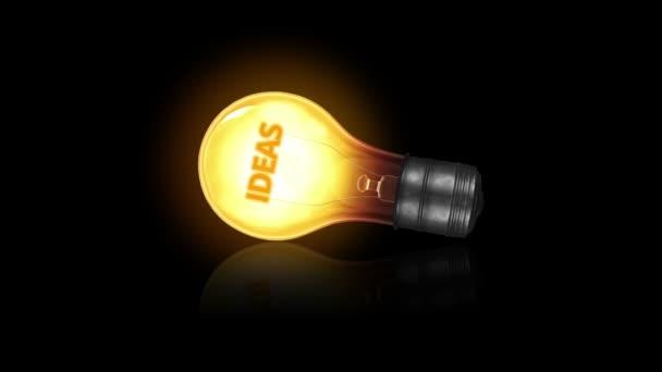 myšlenky žárovka