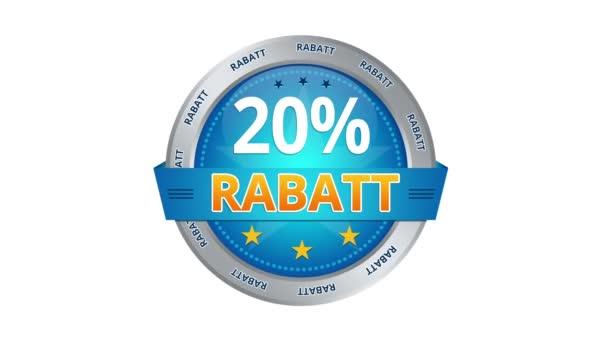 20 Prozent Rabatt (In Deutsch)
