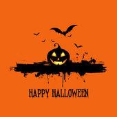 Photo Grunge halloween background
