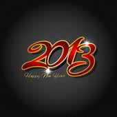 šťastný nový rok na uhlíkových vláken