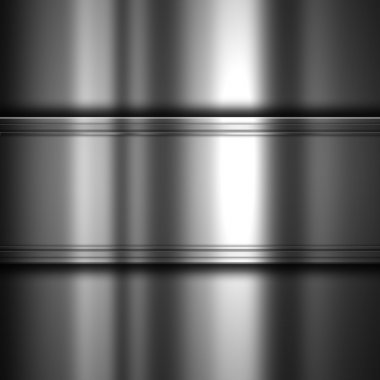Abstract background with a shiny metal texture stock vector