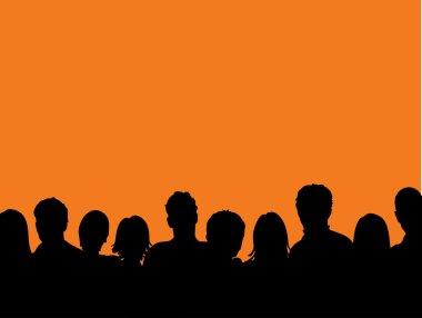 Audience in spotlight