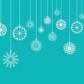 Vánoční vločky pozadí