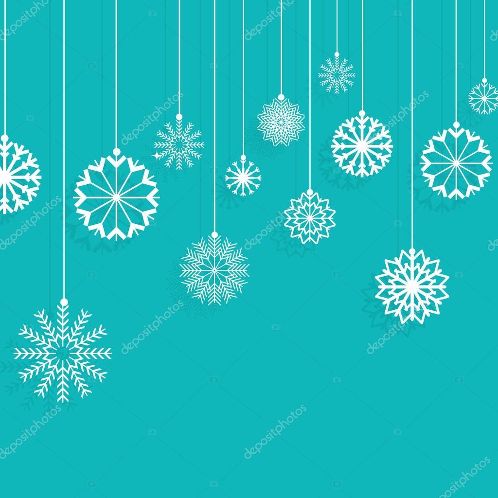 weihnachten schneeflocken hintergrund — Stockvektor © kjpargeter ...