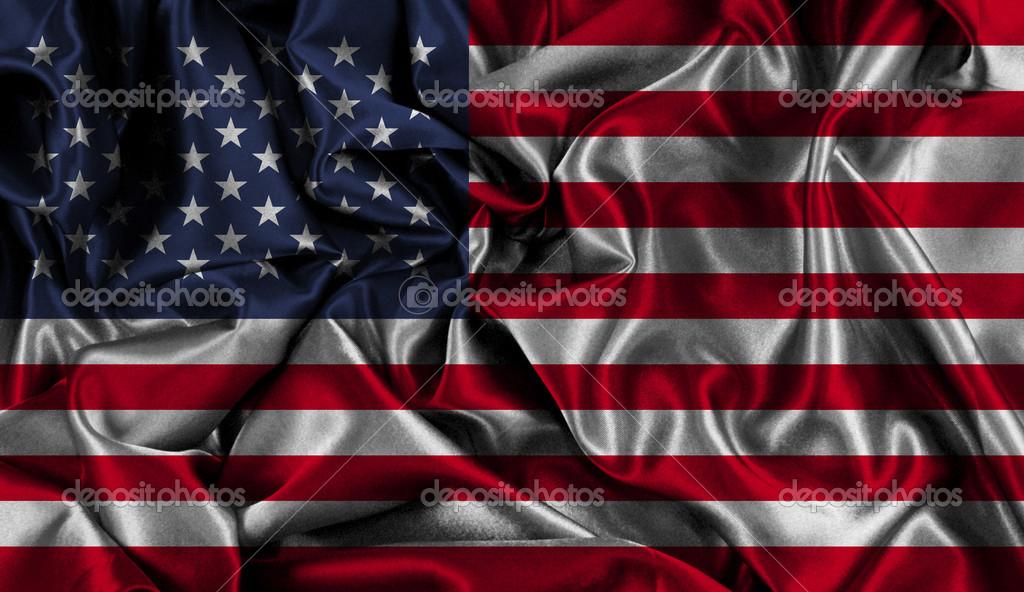American flag background — Stock Photo © kjpargeter #49532855