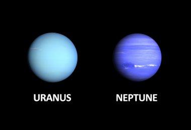 Planets Uranus and Neptune