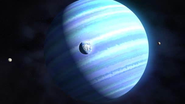 idegen bolygó és holdjai
