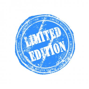Limited edition rubber stamp