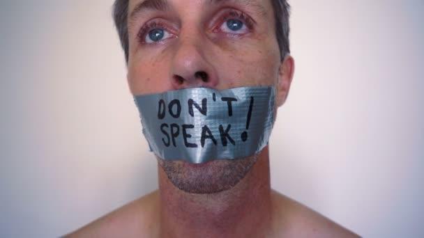 Speak No Evil Duct Tape