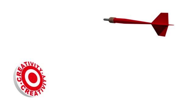 Creativity Dartboard Target