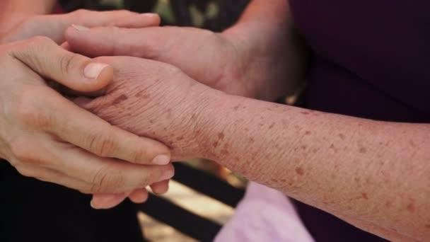 gazdaság idősebb nő kezében dolly