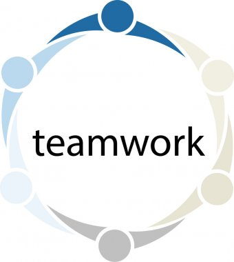 Teamwork People Circle Concept